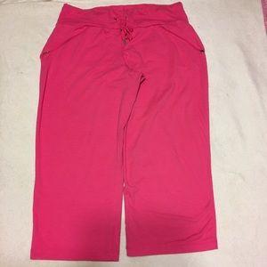 Danskin Now Pants - Danskin Now Pink Athletic Capri